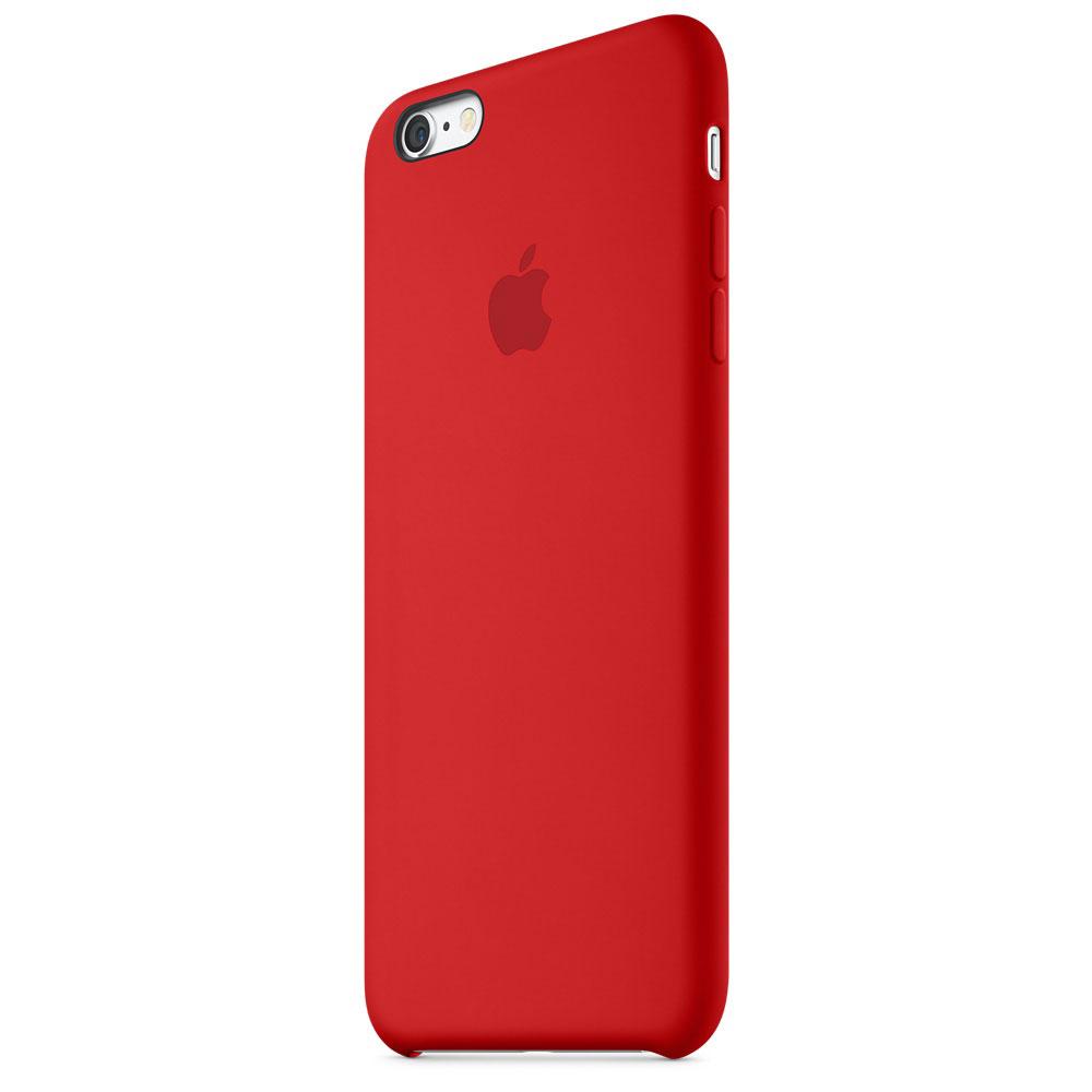 apple coque en silicone rouge apple iphone 6s etui t l phone apple sur. Black Bedroom Furniture Sets. Home Design Ideas