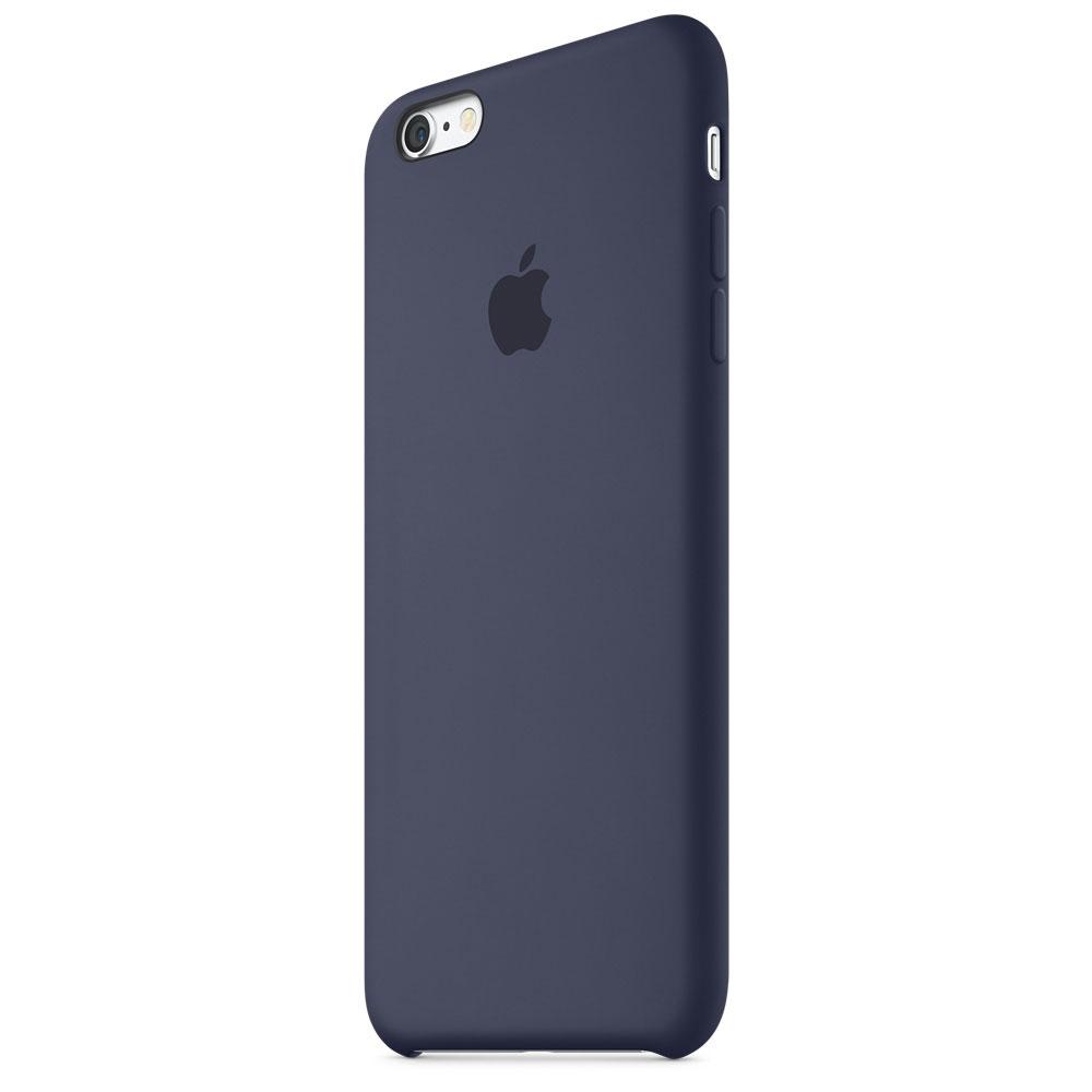 Coque En Silicone Pour Iphone  S Bleu Nuit