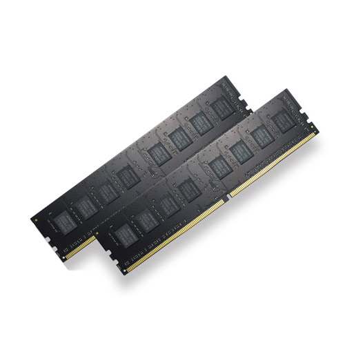 Mémoire PC G.Skill RipJaws 4 Series 8 Go (2x 4 Go) DDR4 2400 MHz CL15 Kit Dual Channel 2 barrettes de RAM DDR4 PC4-19200 - F4-2400C15D-8GNT