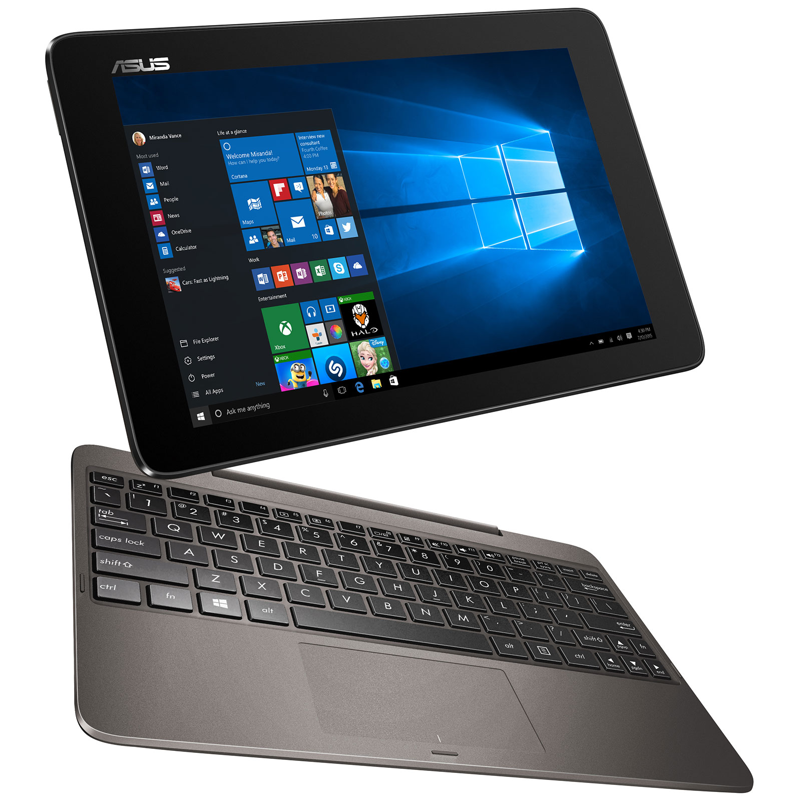 asus transformer book t100ha fu029t pc portable asus sur. Black Bedroom Furniture Sets. Home Design Ideas