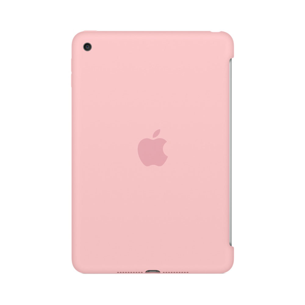 apple ipad mini 4 silicone case rose etui tablette apple sur. Black Bedroom Furniture Sets. Home Design Ideas