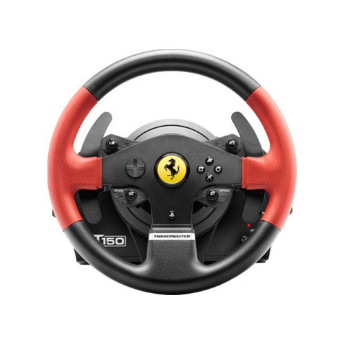 thrustmaster t150 ferrari force feedback pc ps3 ps4 volant pc thrustmaster sur. Black Bedroom Furniture Sets. Home Design Ideas