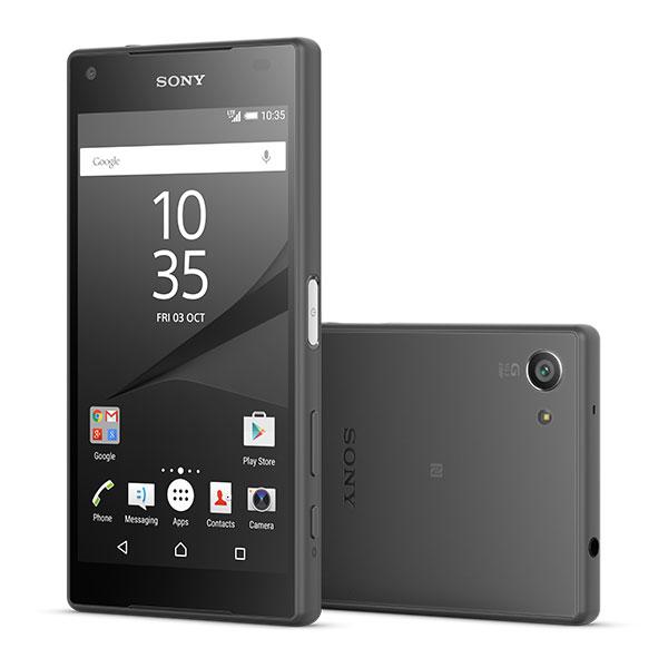 sony xperia z5 compact noir mobile smartphone sony sur. Black Bedroom Furniture Sets. Home Design Ideas