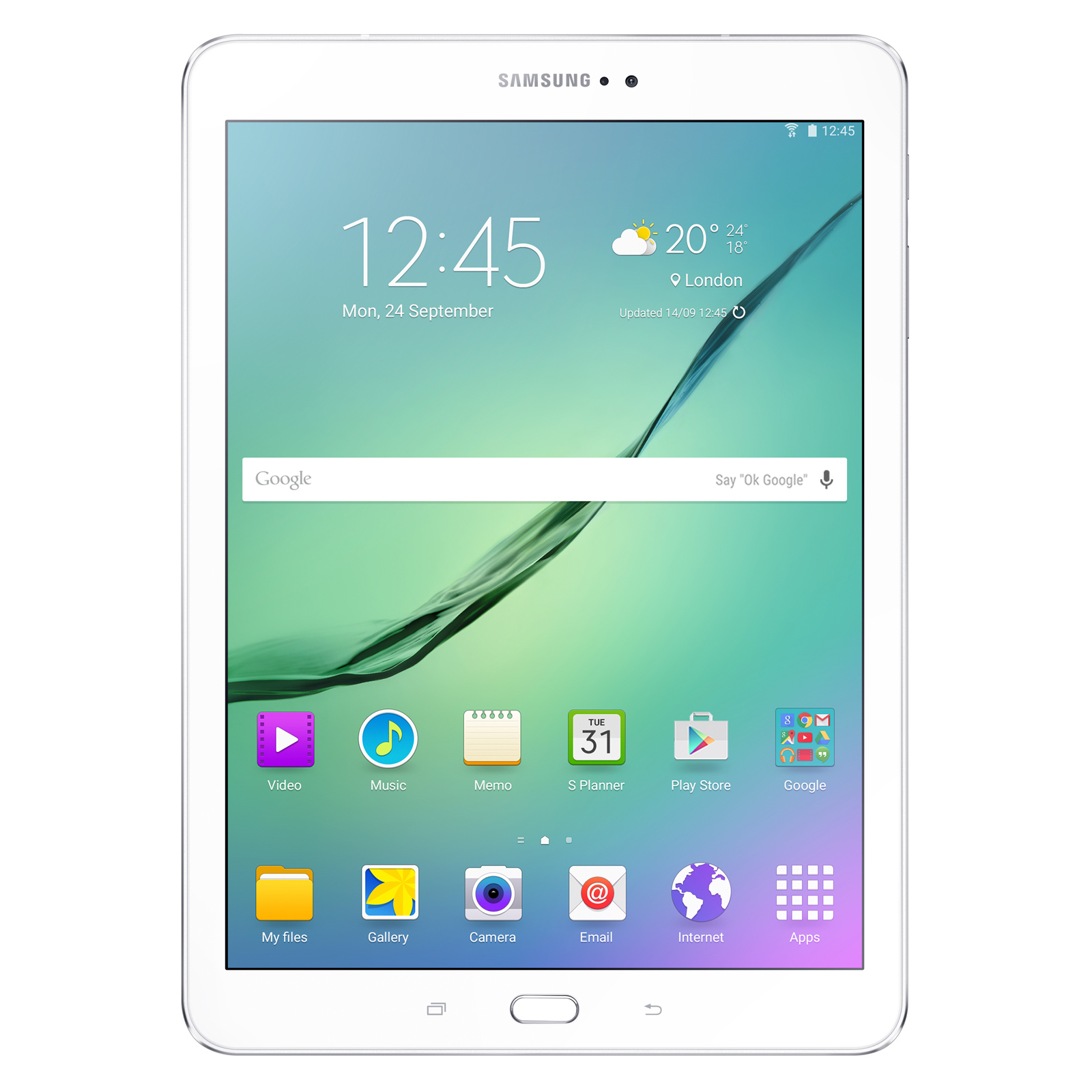samsung galaxy tab s2 9 7 sm t810 32 go blanc tablette. Black Bedroom Furniture Sets. Home Design Ideas