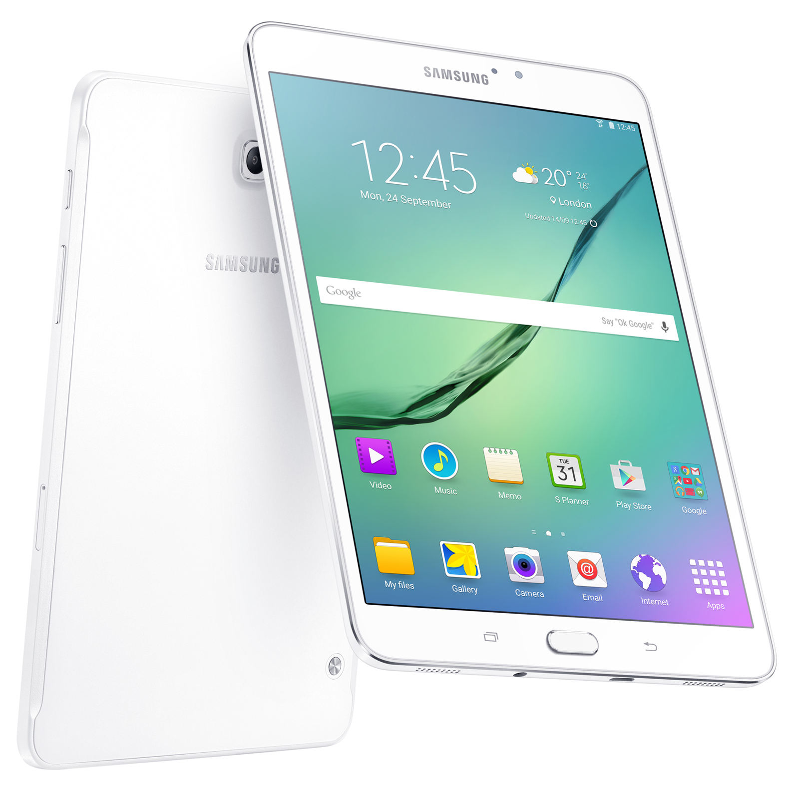 Samsung galaxy tab s2 8 sm t715 32 go blanc tablette for Housse tab s2 8