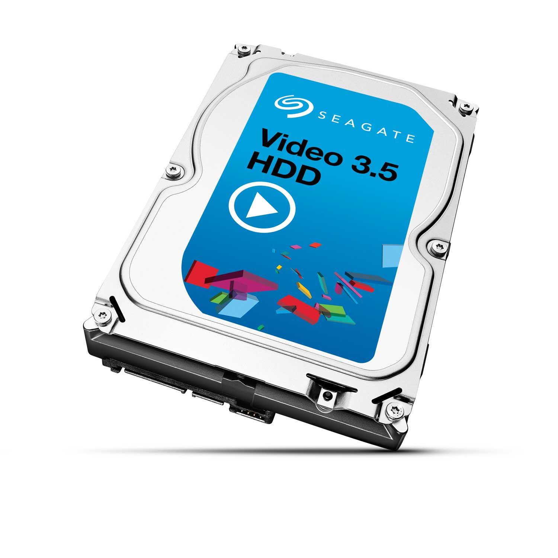 "Disque dur interne Seagate Video 3.5 HDD 4 To Disque dur 3.5"" 4 To 5900 RPM 64 Mo Serial ATA 6 Gb/s"