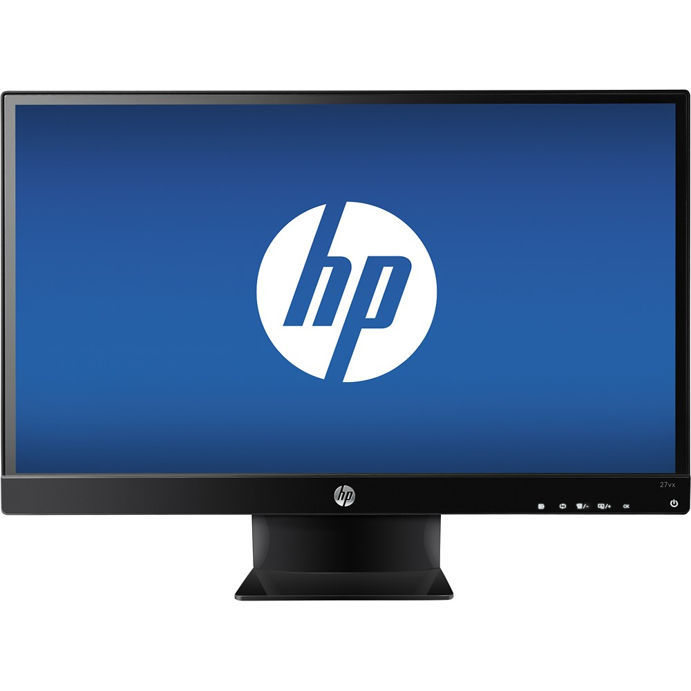 Hp 27 led 27vx ecran pc hp sur for Ecran dalle ips pour la photo
