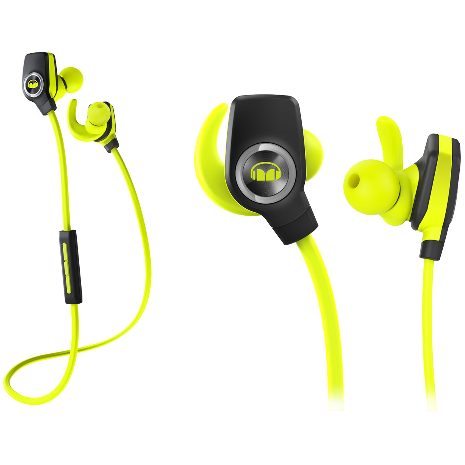 Monster Isport Superslim Vert Casque Monster Sur Ldlc Com