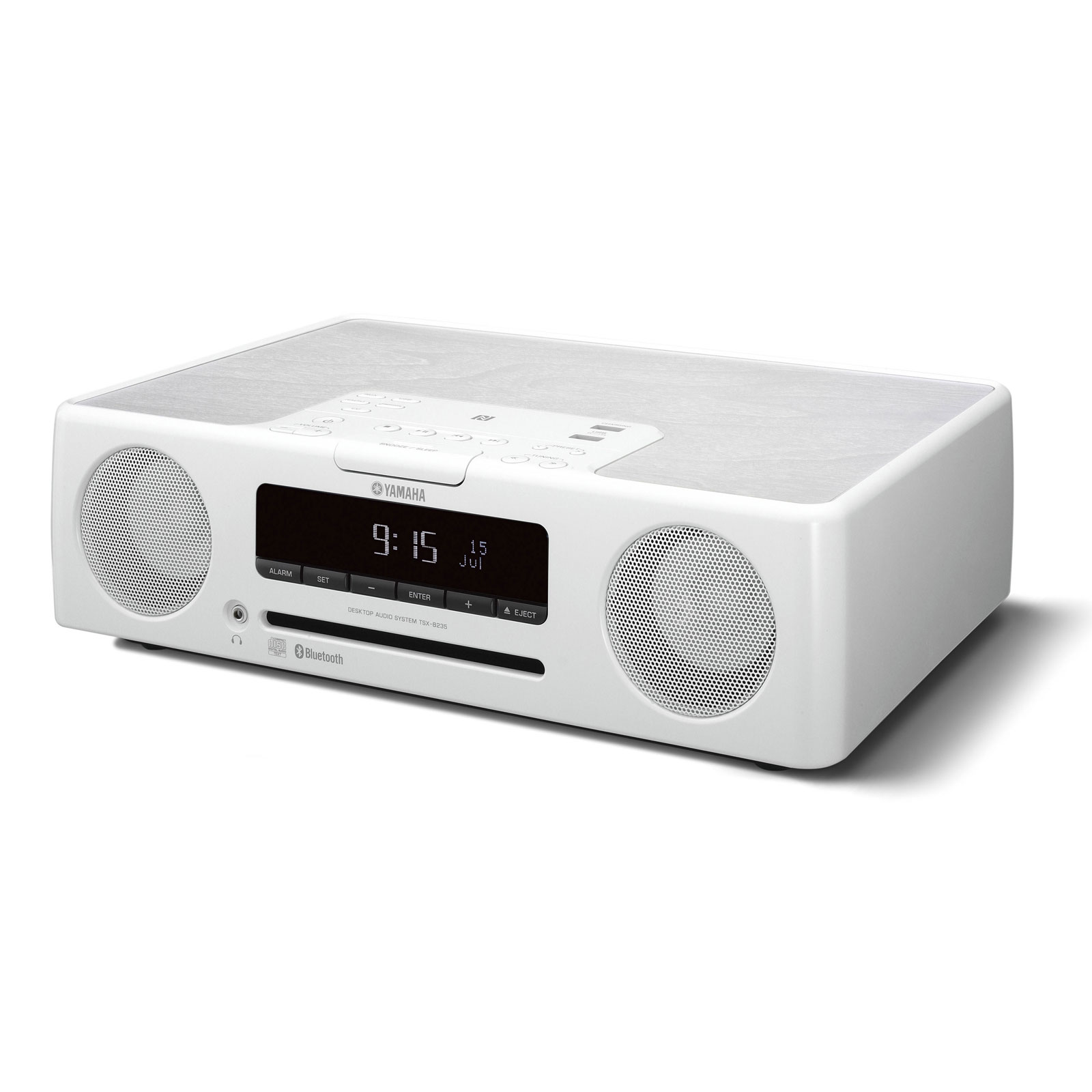 yamaha tsx b235 blanc cha ne hifi yamaha sur. Black Bedroom Furniture Sets. Home Design Ideas
