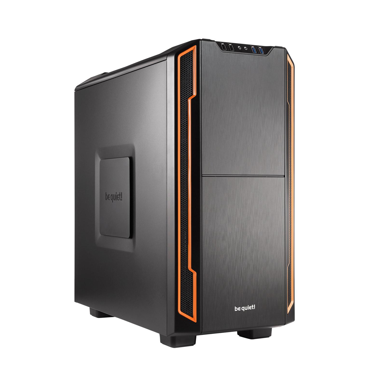 Boîtier PC be quiet! Silent Base 600 (Orange) Boîtier moyen tour