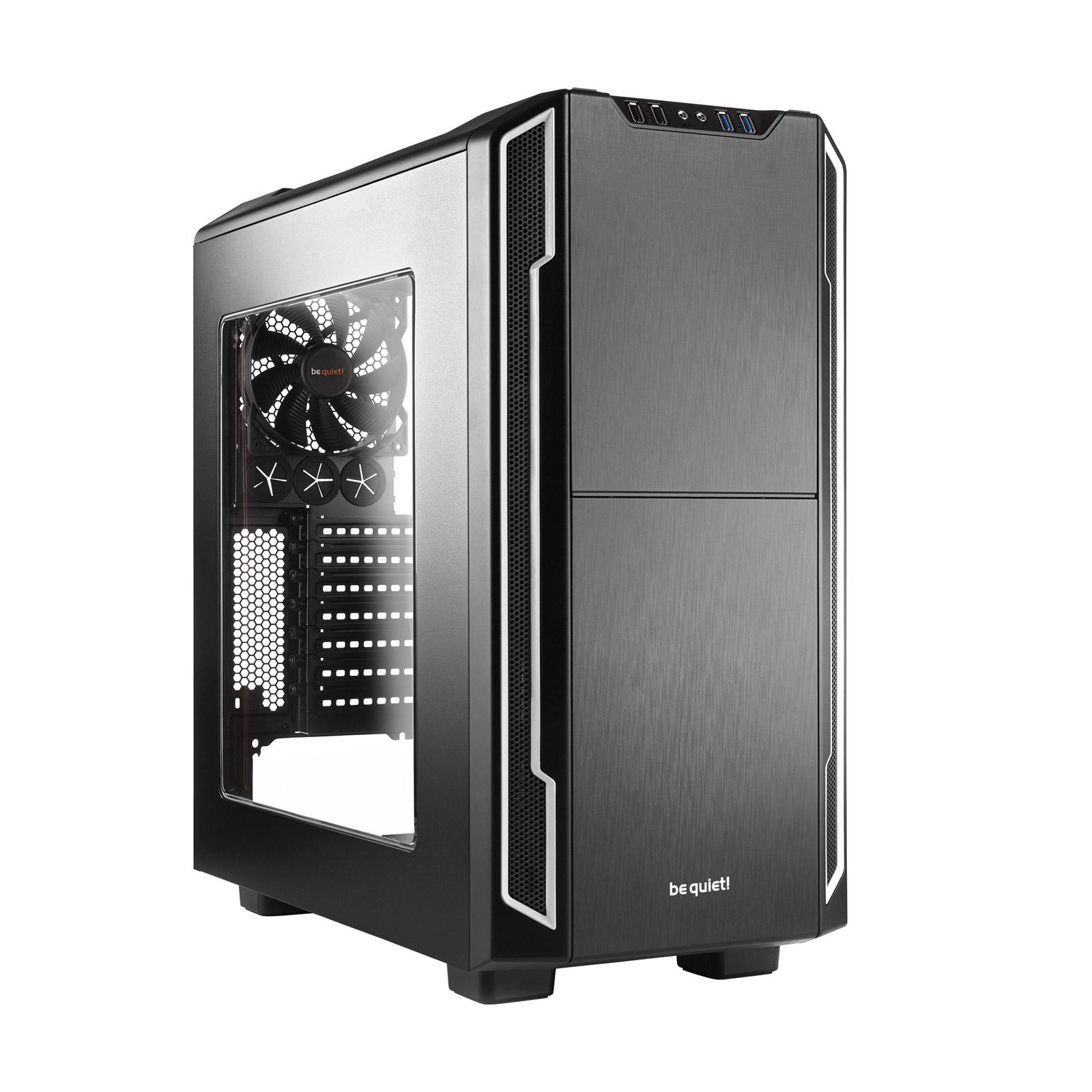 Boîtier PC be quiet! Silent Base 600 Window (Silver) Boîtier moyen tour avec fenêtre