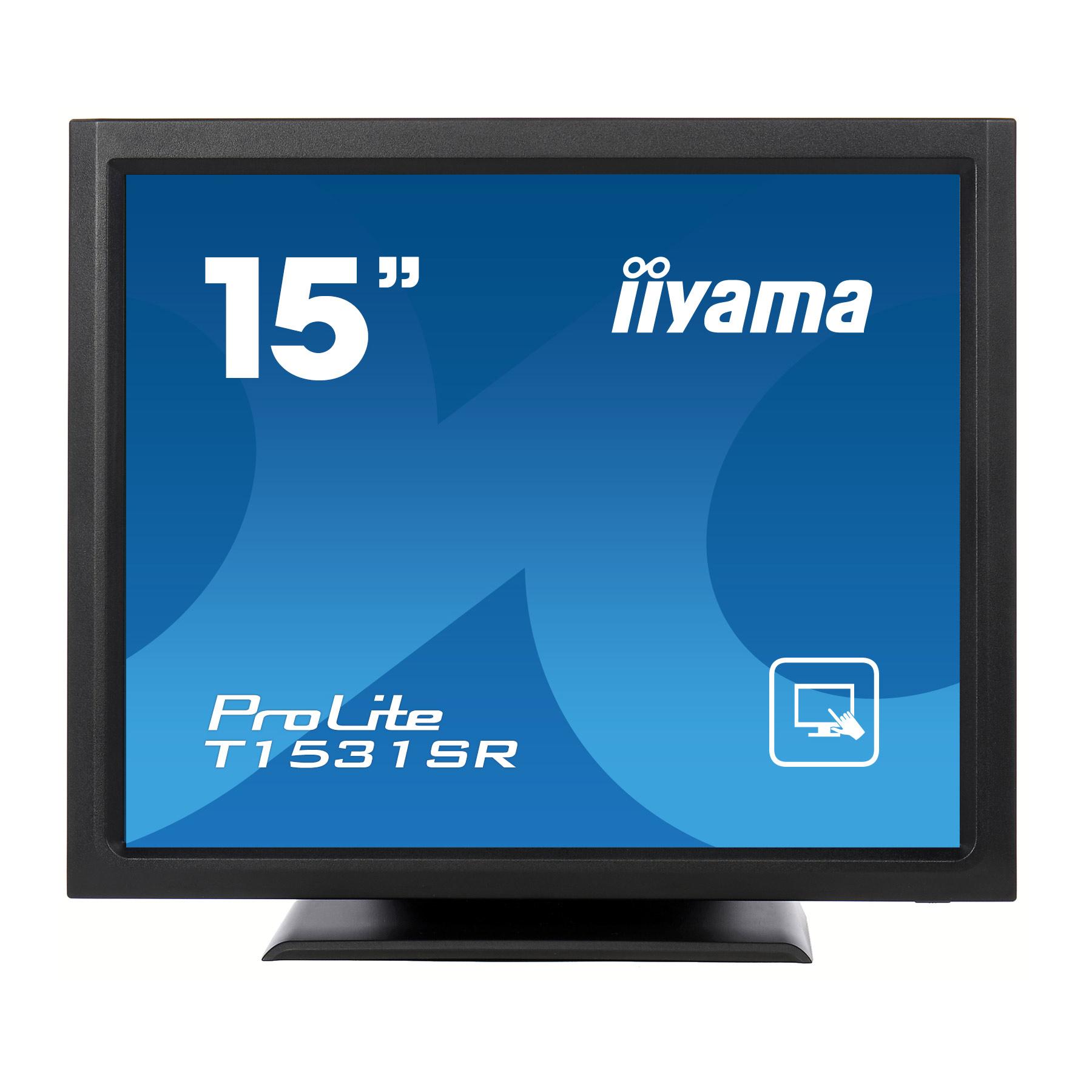iiyama 15 lcd tactile r sistive prolite t1531sr b3 ecran pc iiyama sur. Black Bedroom Furniture Sets. Home Design Ideas