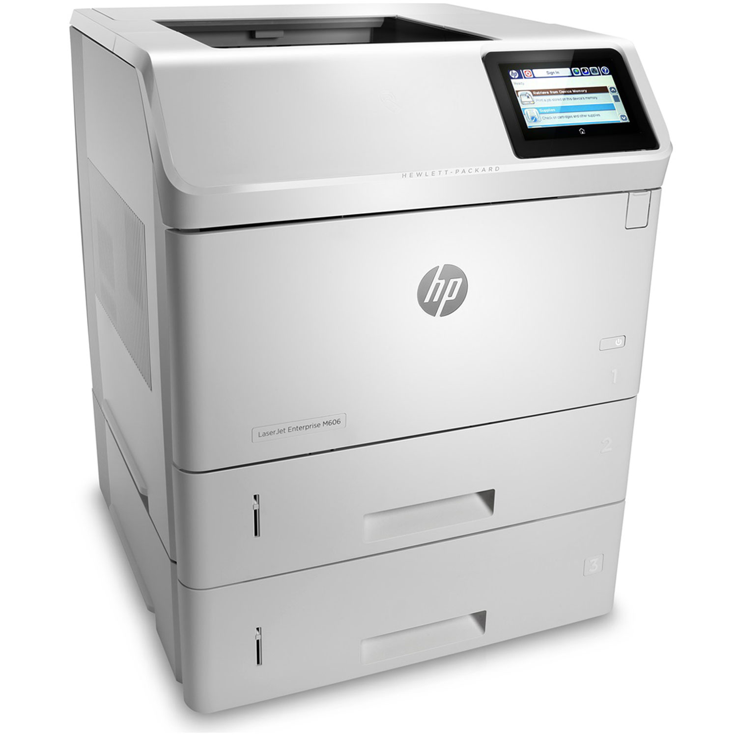 hp laserjet enterprise m606x imprimante laser hp sur. Black Bedroom Furniture Sets. Home Design Ideas