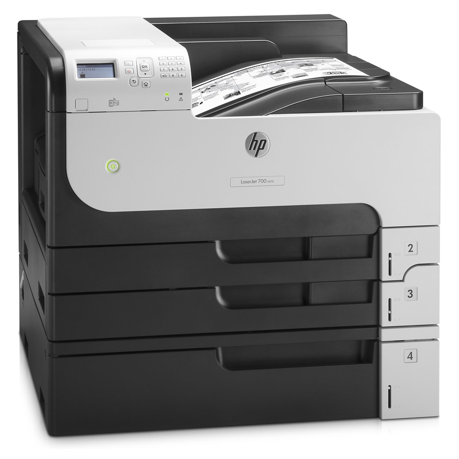 hp laserjet enterprise 700 m712xh imprimante laser hp sur. Black Bedroom Furniture Sets. Home Design Ideas