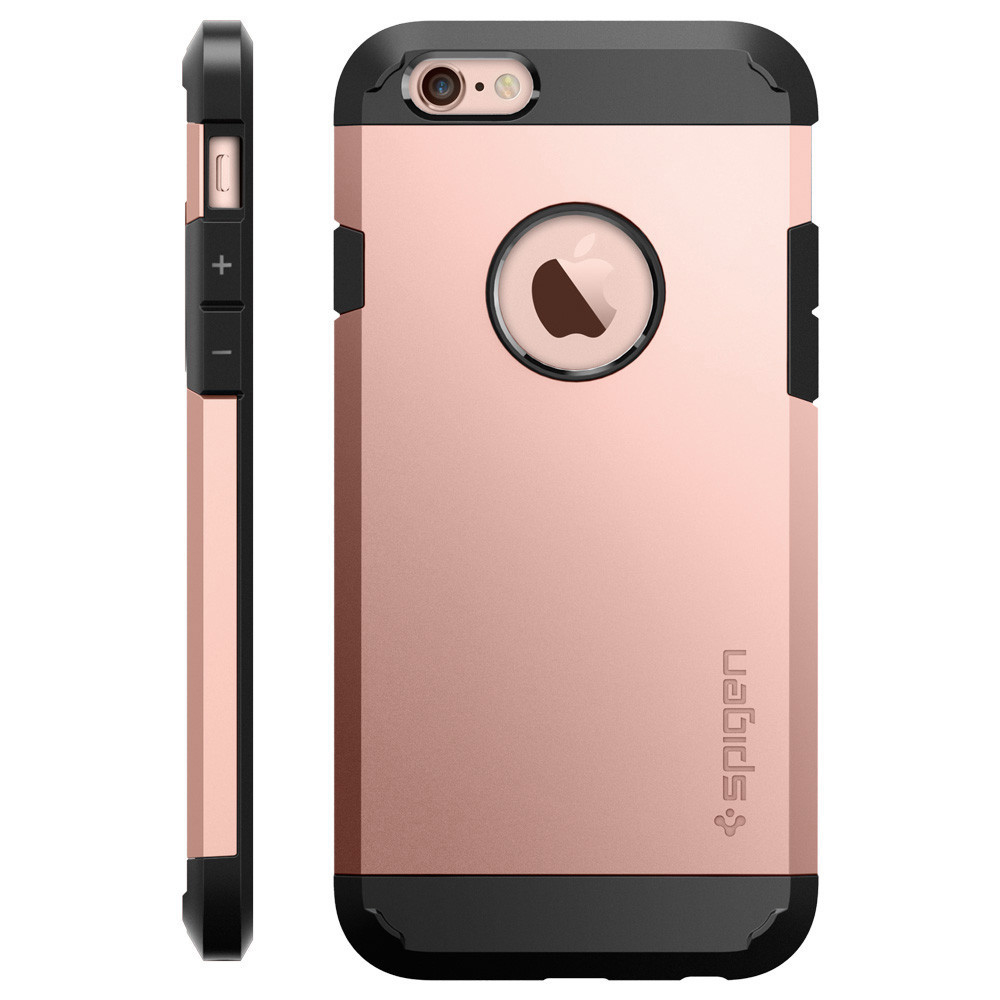spigen case tough armor rose gold apple iphone 6 6s etui. Black Bedroom Furniture Sets. Home Design Ideas