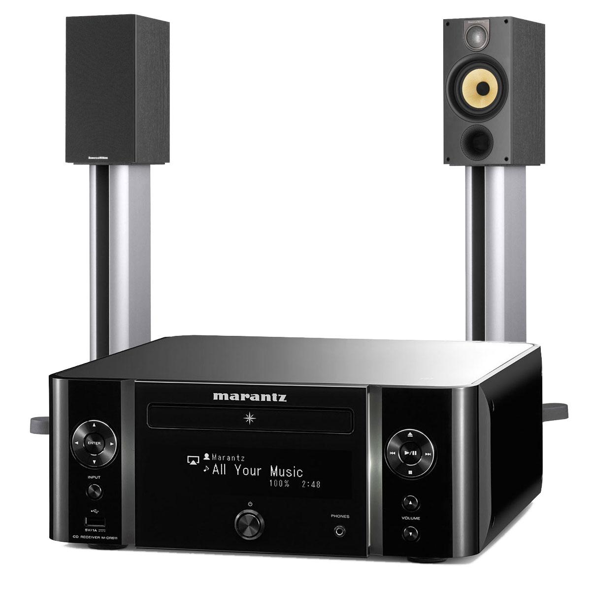 marantz melody stream m cr611 b w 686 s2 cha ne hifi marantz sur. Black Bedroom Furniture Sets. Home Design Ideas
