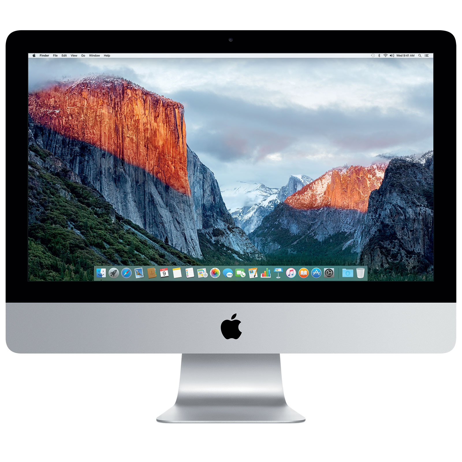 apple imac 21 5 pouces mk142fn a ordinateur mac apple. Black Bedroom Furniture Sets. Home Design Ideas