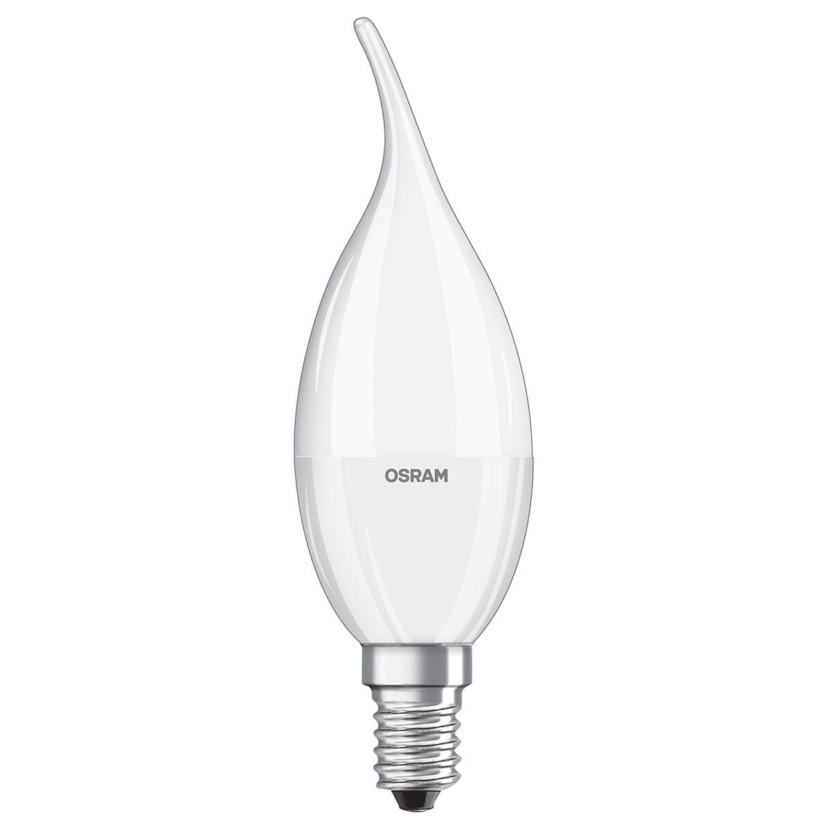 Osram Ampoule Led Retrofit Standard E27 4w 40w A: OSRAM Ampoule LED Superstar Classic Flamme E14 6.7W (40W
