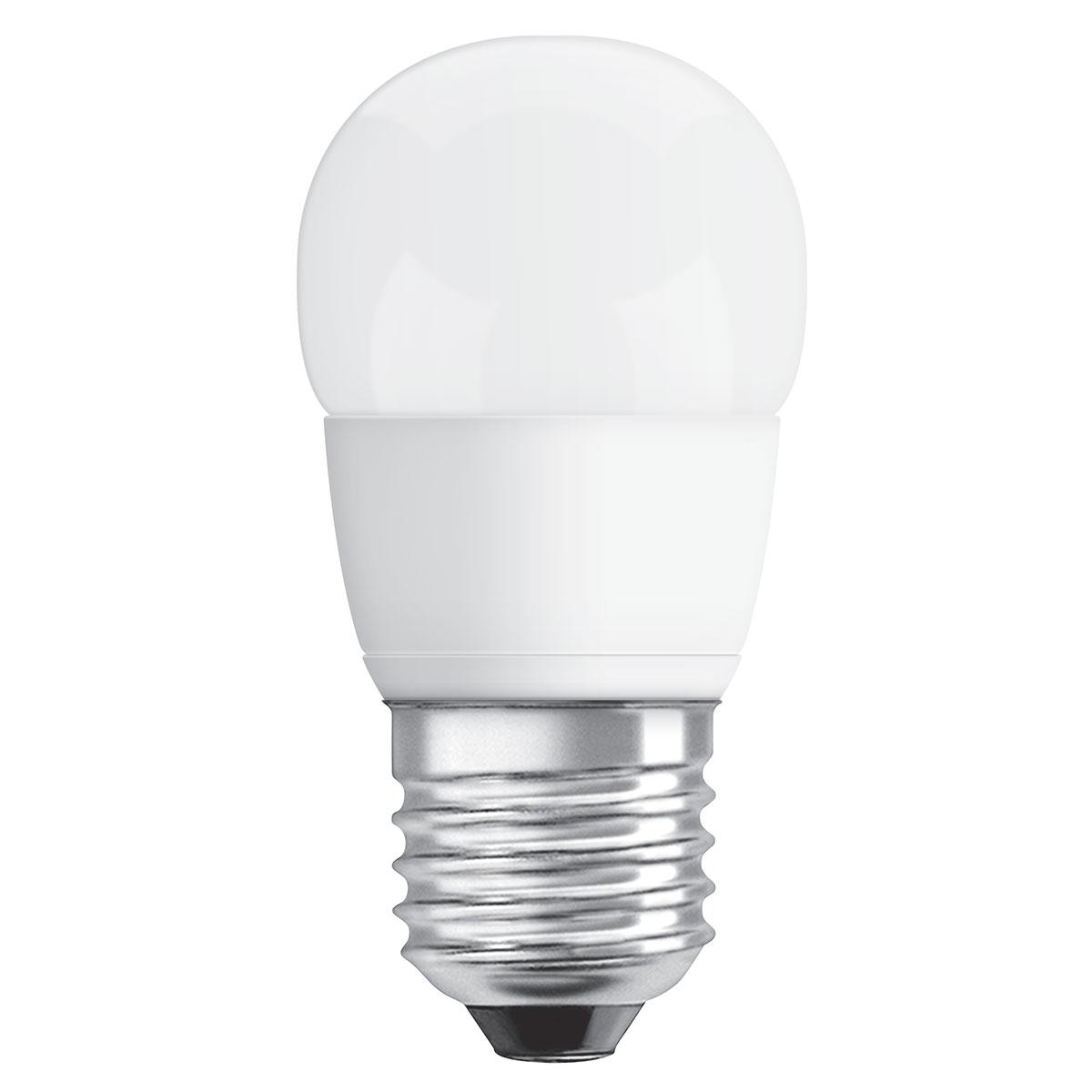 osram ampoule led superstar sph rique e27 5 4w 40w a ampoule led osram sur. Black Bedroom Furniture Sets. Home Design Ideas