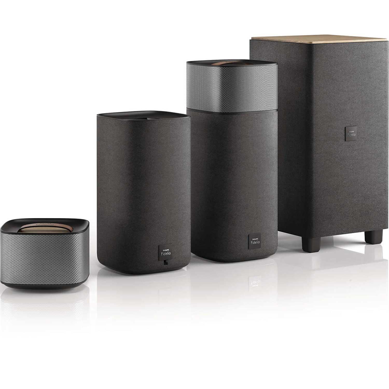 philips fidelio e5 ensemble home cin ma philips fidelio. Black Bedroom Furniture Sets. Home Design Ideas