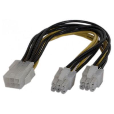 Alimentation Doubleur d'alimentation PCI Express 6 pins Doubleur d'alimentation PCI Express 6 pins