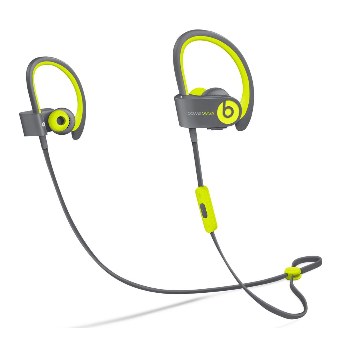 beats powerbeats2 wireless active collection jaune. Black Bedroom Furniture Sets. Home Design Ideas