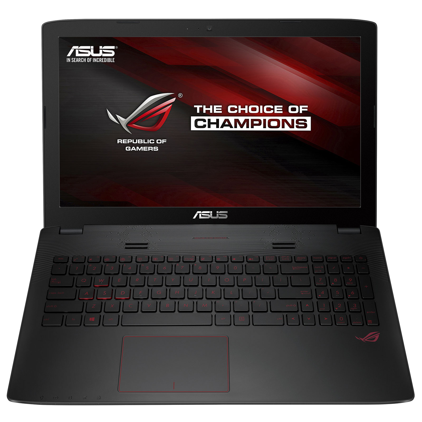 """PC portable ASUS G552VW-DM886T Intel Core i7-6700HQ 8 Go 1 To 15.6"""" LED Full HD NVIDIA GeForce GTX 960M Graveur DVD Wi-Fi AC/Bluetooth Webcam Windows 10 Famille 64 bits (garantie constructeur 2 ans)"""