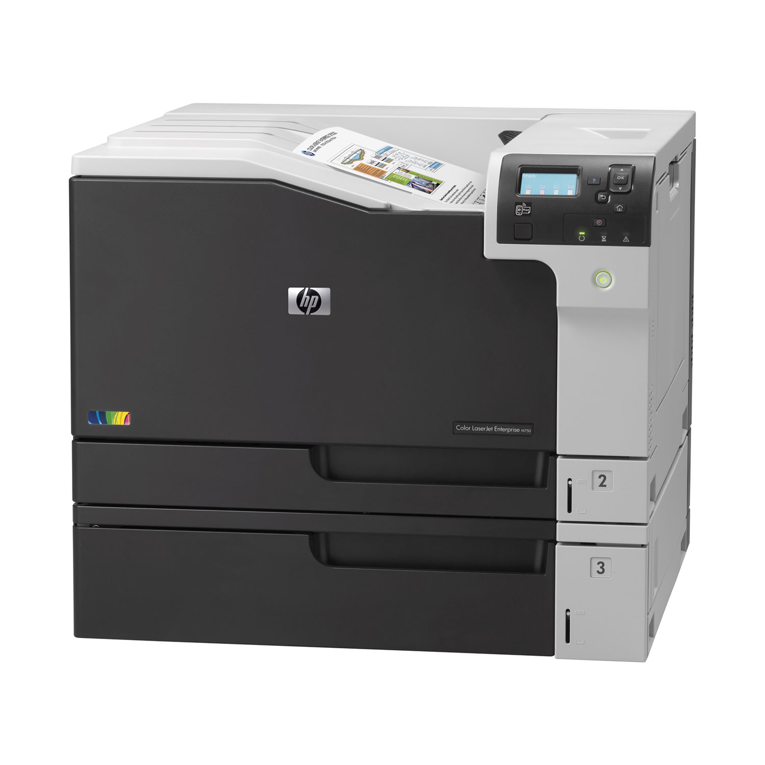 hp color laserjet enterprise m750dn imprimante laser hp sur. Black Bedroom Furniture Sets. Home Design Ideas