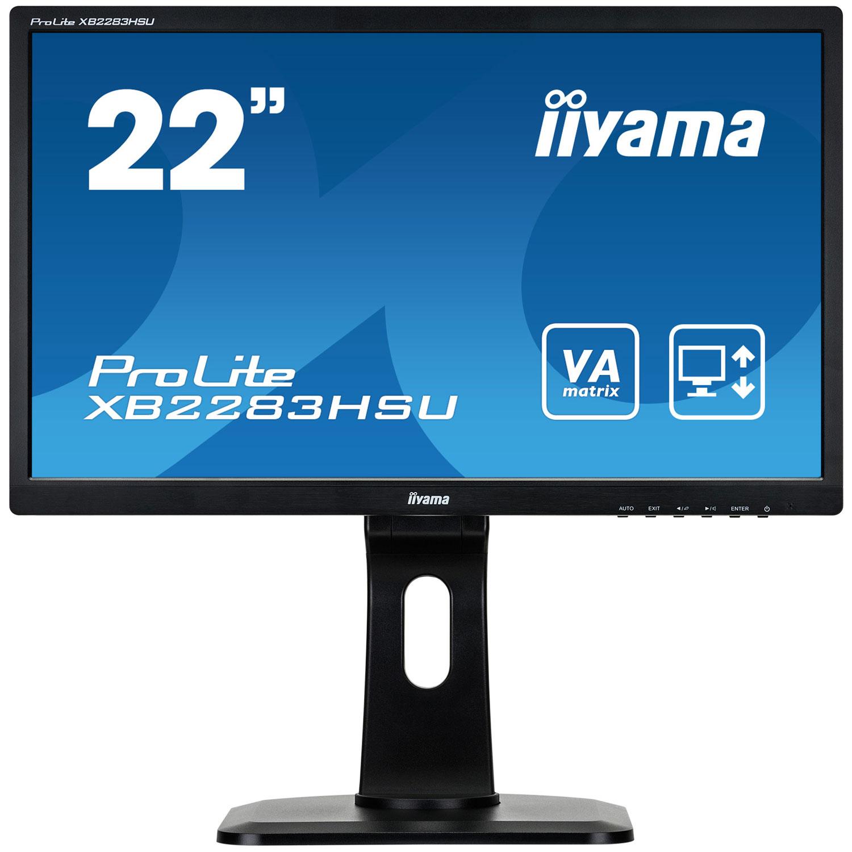 iiyama 21 5 led prolite xb2283hsu b1dp ecran pc iiyama sur. Black Bedroom Furniture Sets. Home Design Ideas