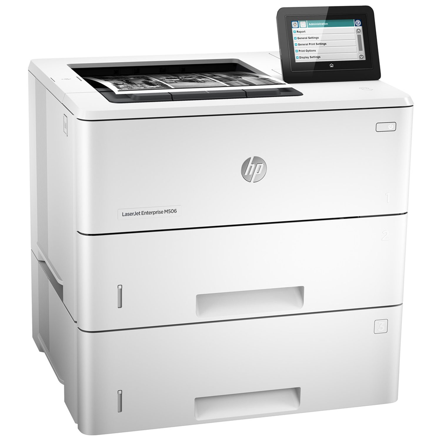 hp laserjet enterprise m506x imprimante laser hp sur. Black Bedroom Furniture Sets. Home Design Ideas