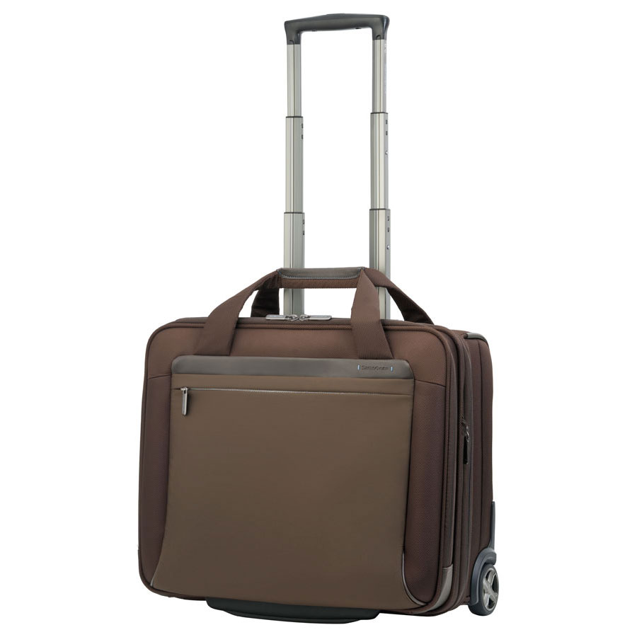 samsonite spectrolite trolley 17 3 39 39 coloris marron sac sacoche housse samsonite sur. Black Bedroom Furniture Sets. Home Design Ideas