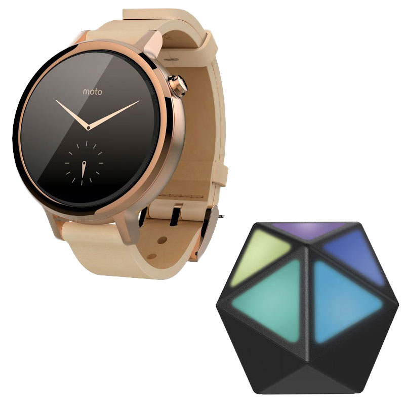 motorola moto 360 2 me g n ration rose or moto stream montre connect e motorola sur. Black Bedroom Furniture Sets. Home Design Ideas
