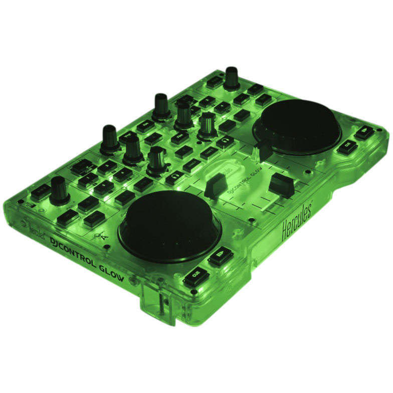 hercules djcontrol glow table de mixage hercules sur. Black Bedroom Furniture Sets. Home Design Ideas