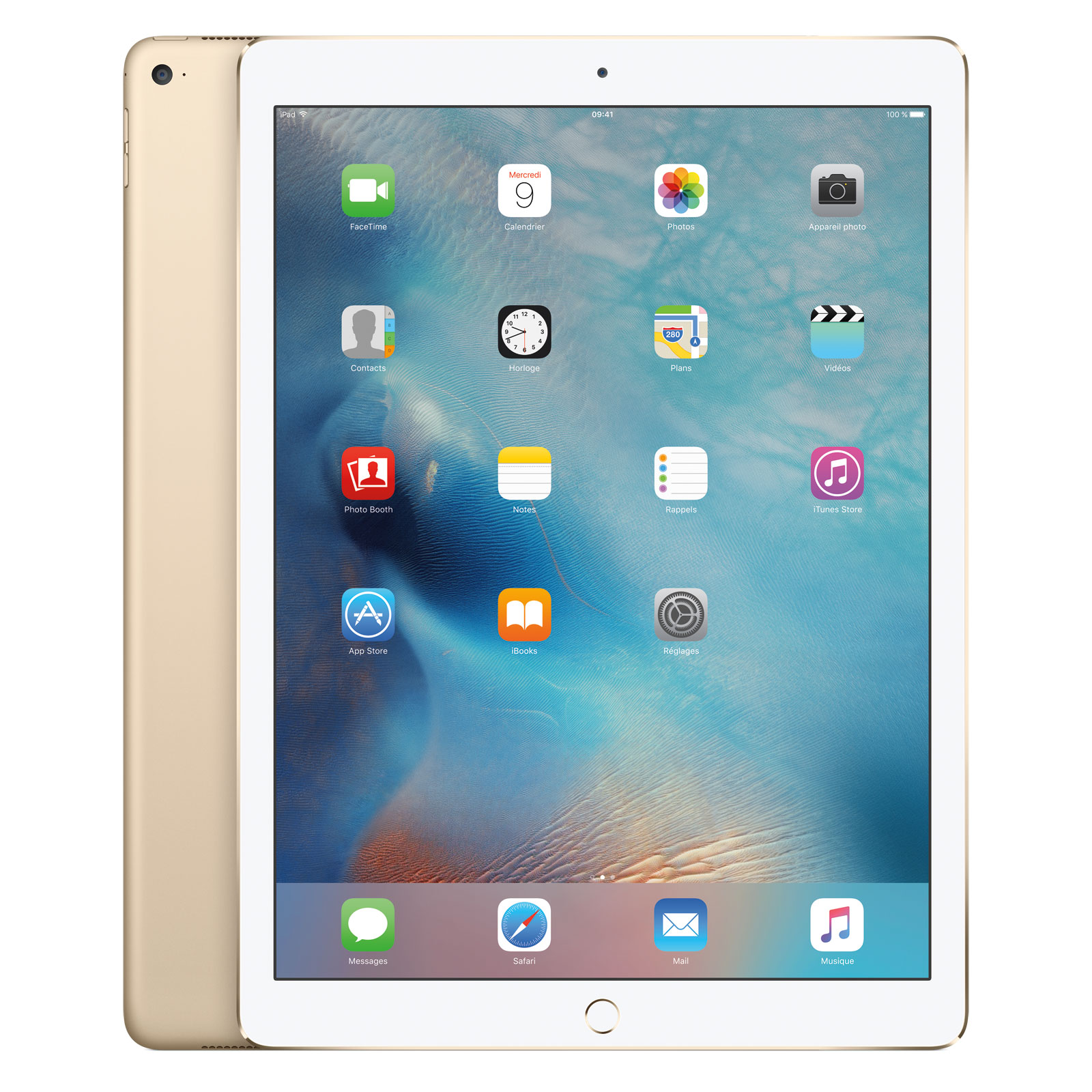 apple ipad pro 32 go wi fi or tablette tactile apple sur. Black Bedroom Furniture Sets. Home Design Ideas