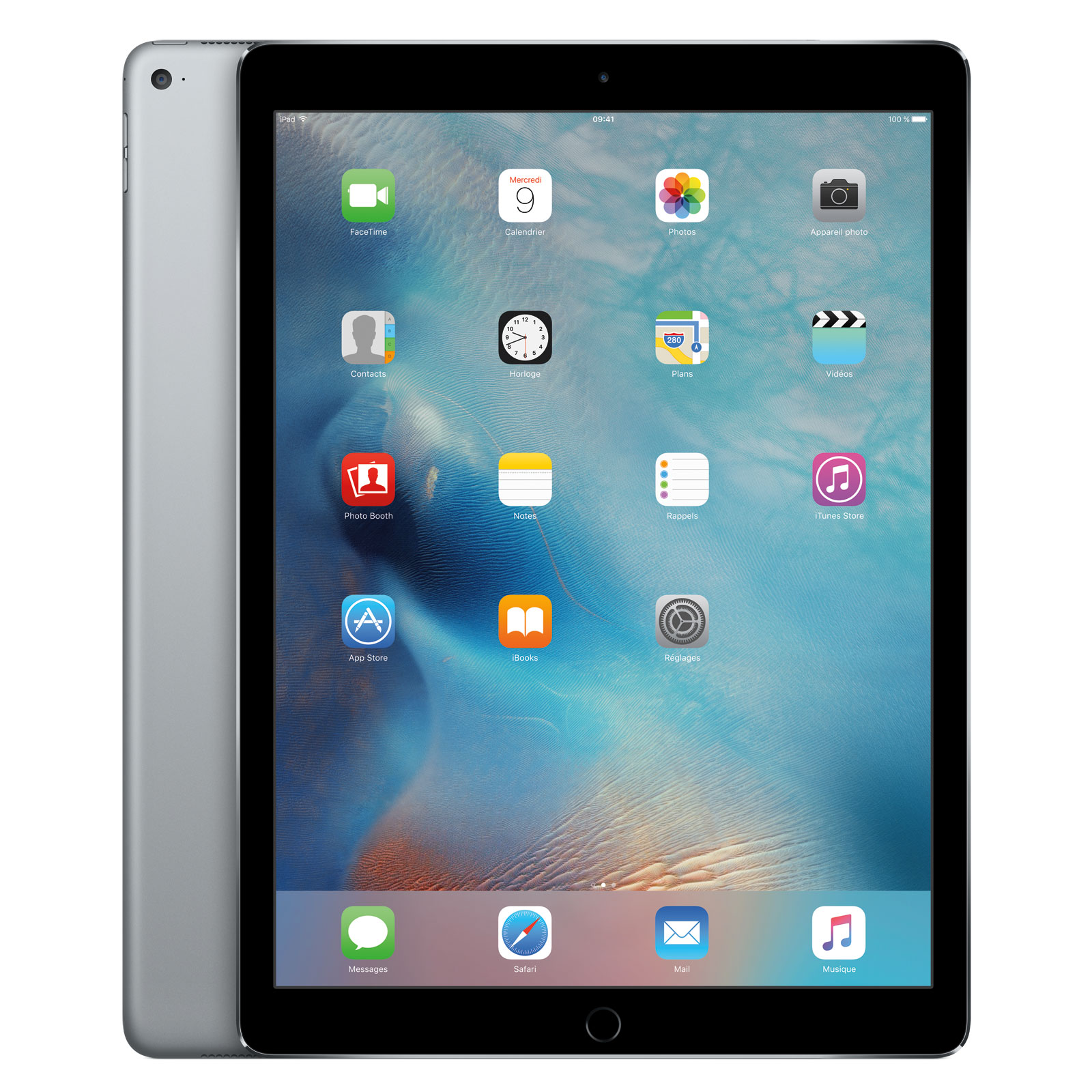 apple ipad pro 32 go wi fi gris sid ral tablette tactile apple sur. Black Bedroom Furniture Sets. Home Design Ideas