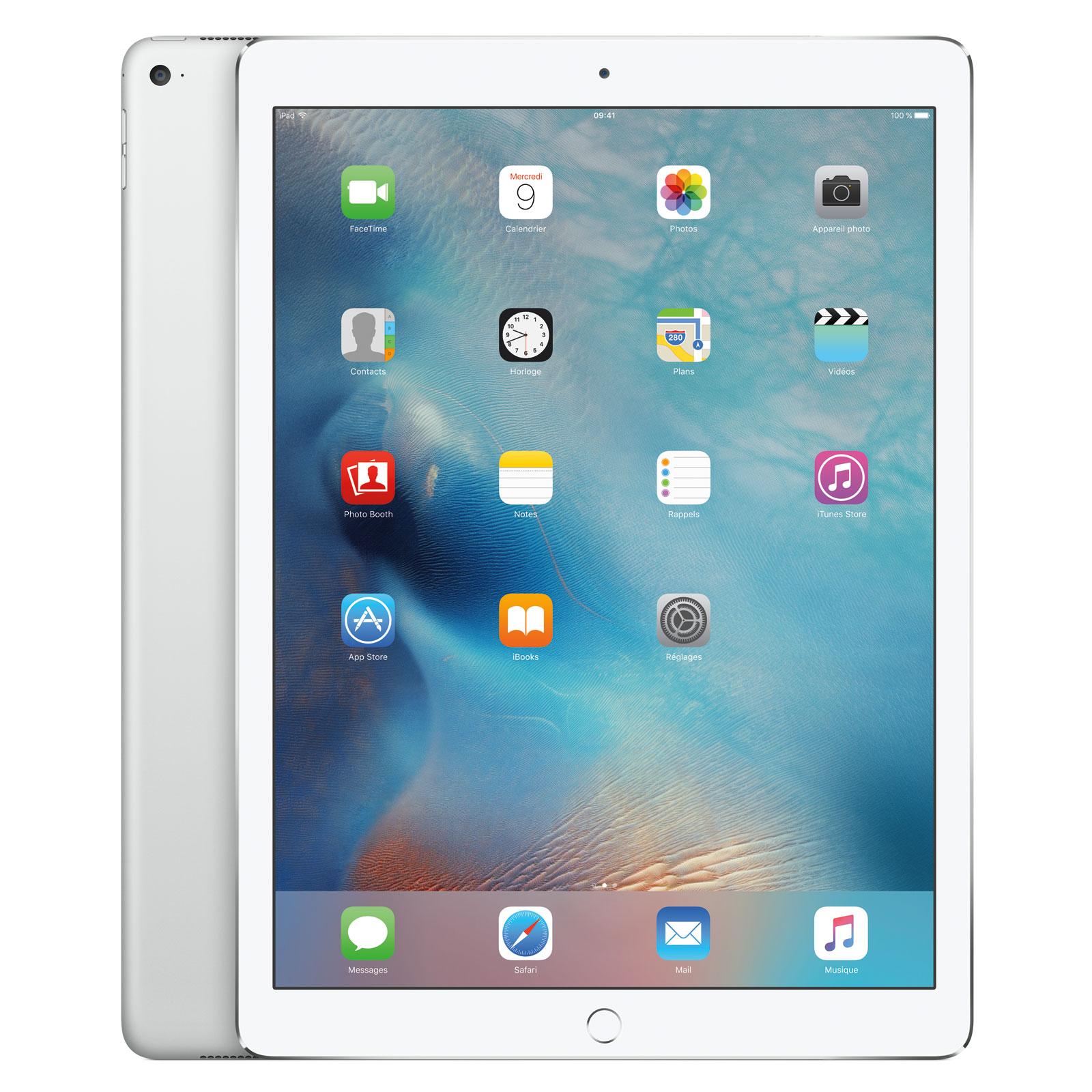apple ipad pro 128 go wi fi argent tablette tactile. Black Bedroom Furniture Sets. Home Design Ideas
