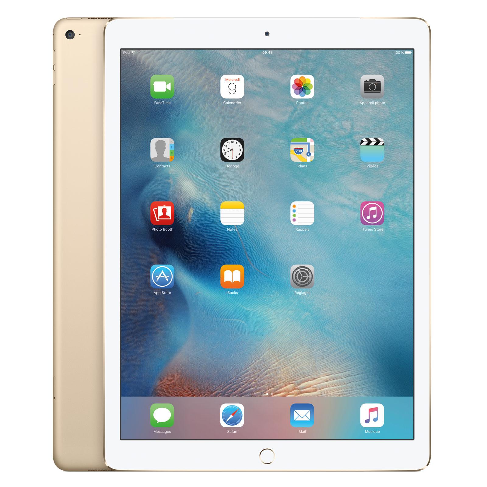 apple ipad pro 128 go wi fi cellular or tablette. Black Bedroom Furniture Sets. Home Design Ideas