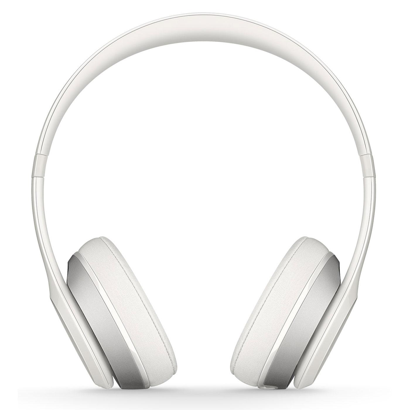 beats solo 2 wireless blanc casque beats by dr dre sur. Black Bedroom Furniture Sets. Home Design Ideas