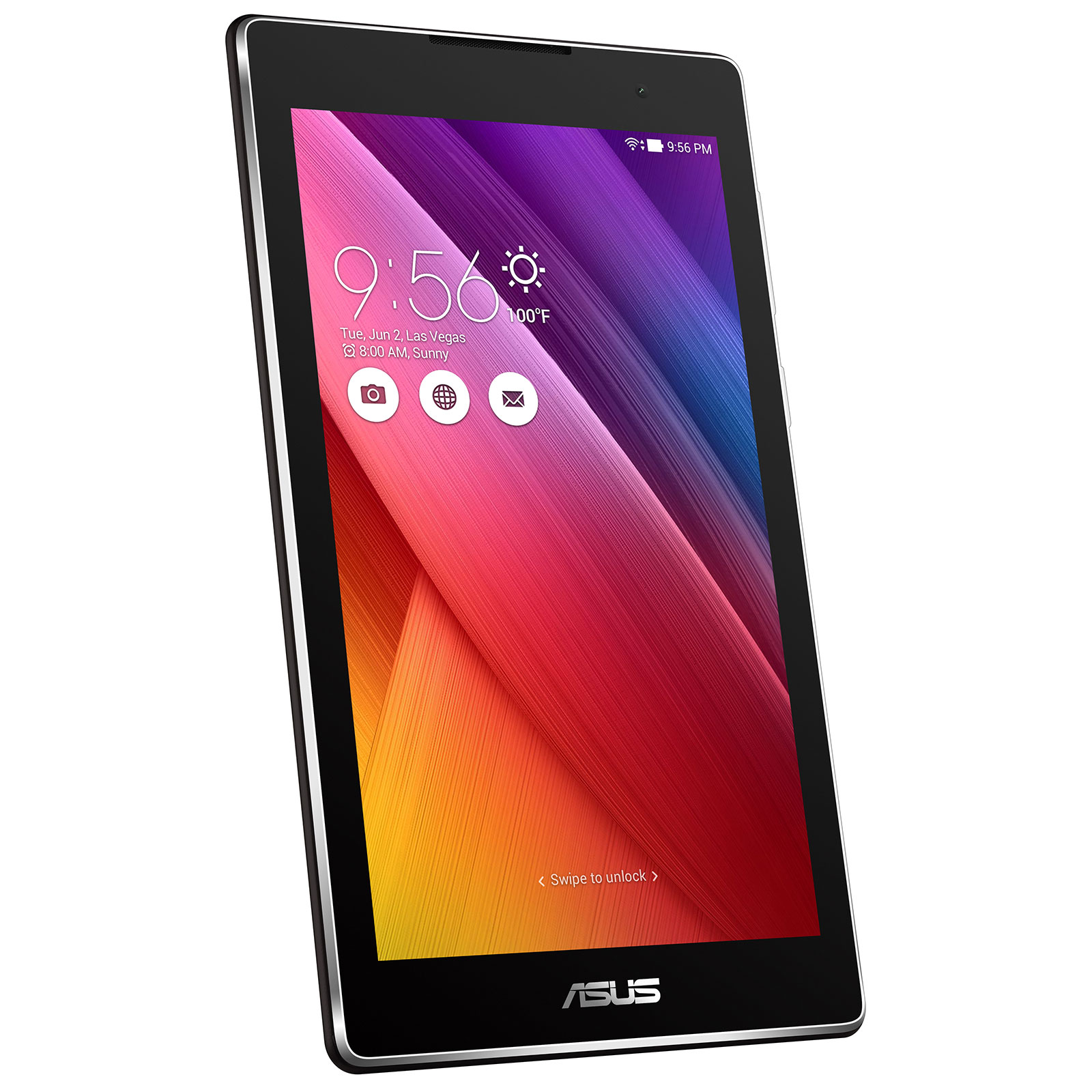 asus zenpad c 7 0 z170c 1a019a noir tablette tactile asus sur. Black Bedroom Furniture Sets. Home Design Ideas