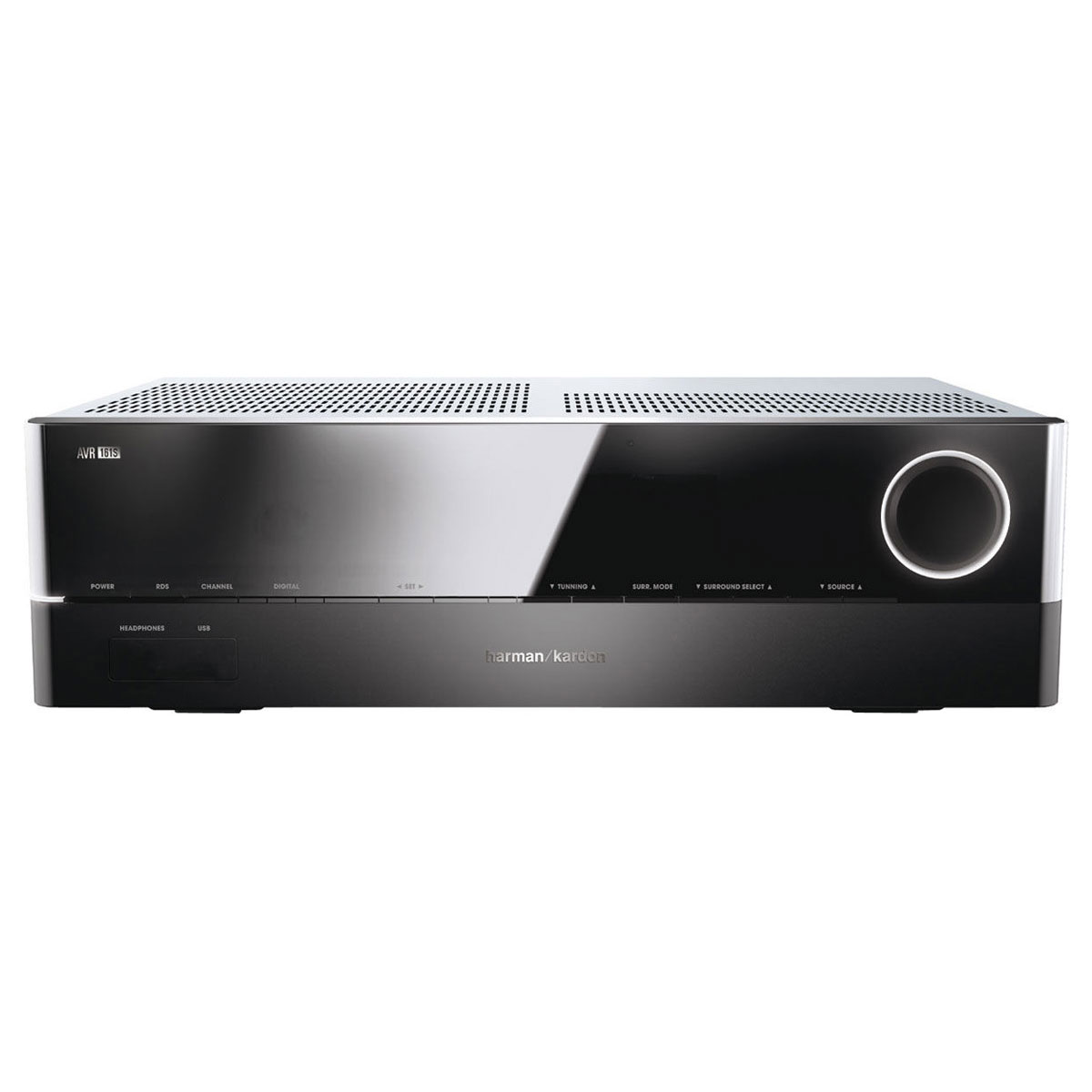 Ampli home cinéma Harman Kardon AVR 161S Ampli-tuner Home Cinema 3D Ready 5.1 DLNA avec HDMI 2.0 4K, Bluetooth, Spotify Connect