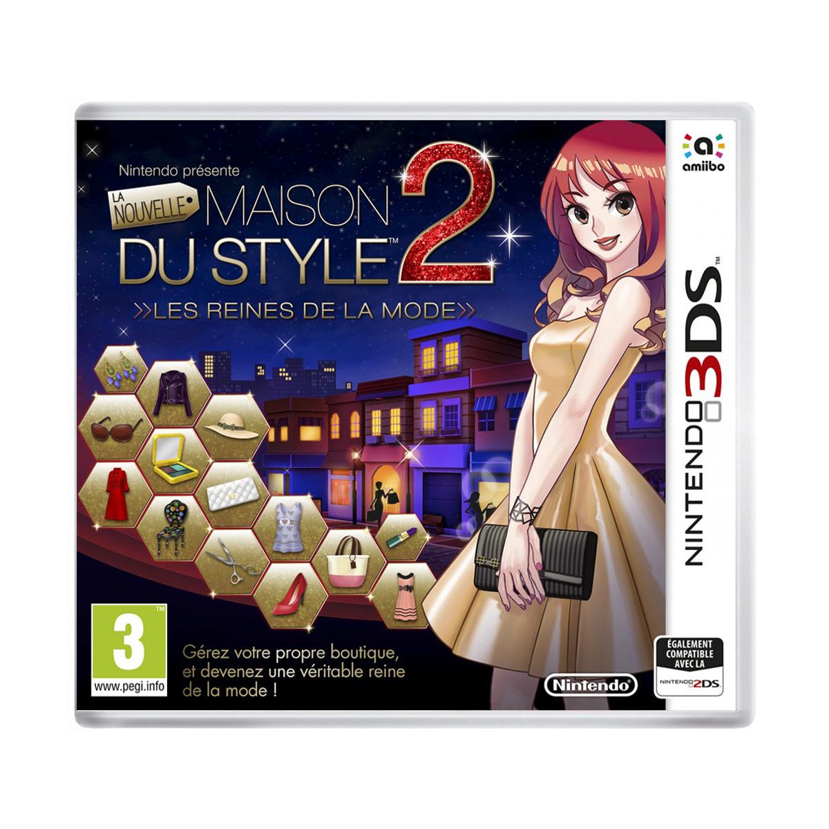 Jeux Nintendo 3DS La Nouvelle Maison Du Style 2 : Les reines de la mode (Nintendo 3DS/2DS) La Nouvelle Maison Du Style 2 : Les reines de la mode (Nintendo 3DS/2DS)