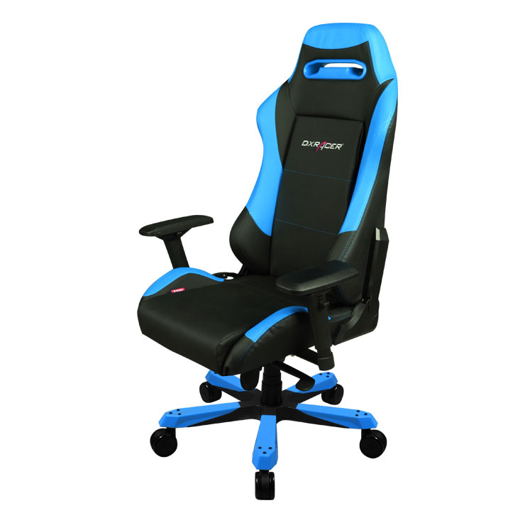 dxracer iron is11 bleu fauteuil gamer dxracer sur. Black Bedroom Furniture Sets. Home Design Ideas