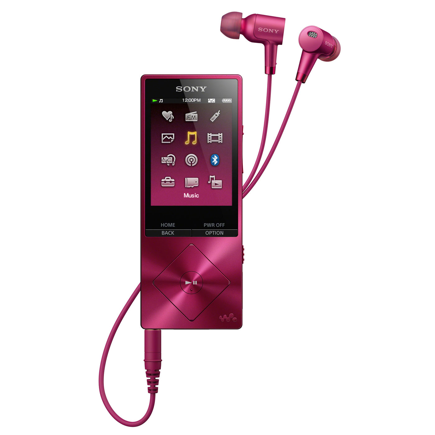 sony nw a25hn rose lecteur mp3 ipod sony sur. Black Bedroom Furniture Sets. Home Design Ideas