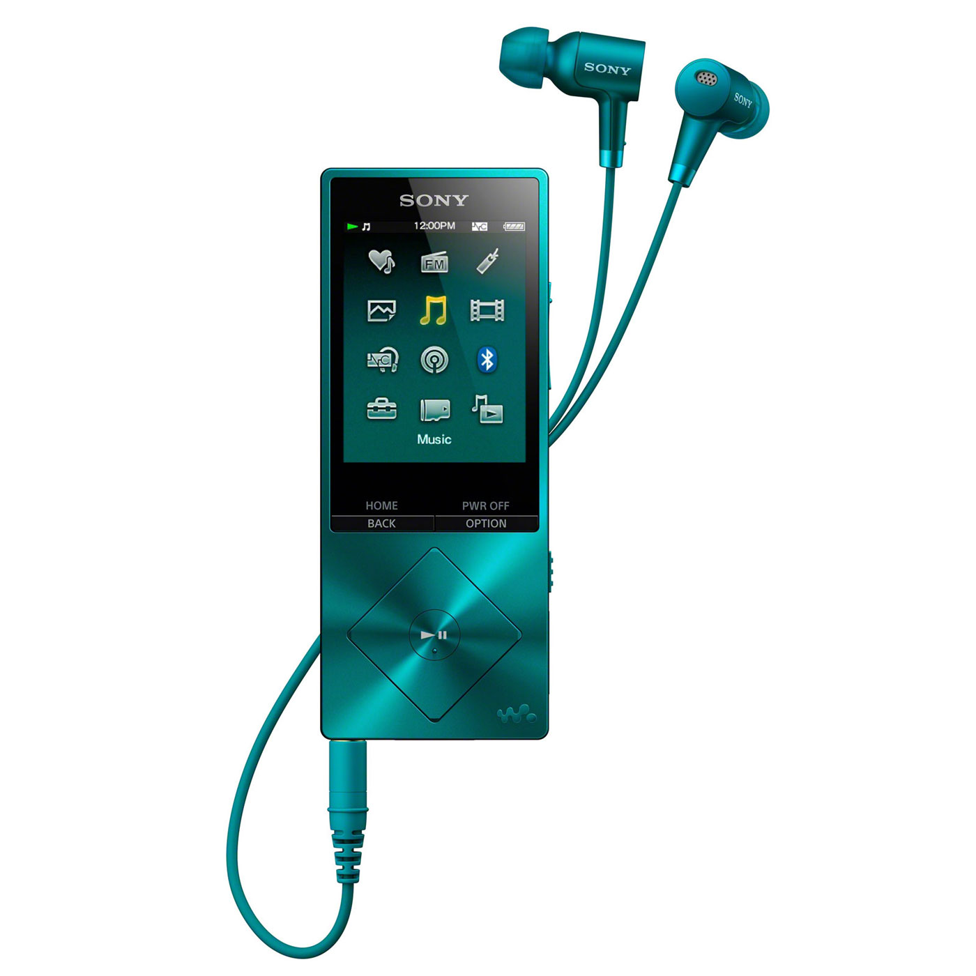 sony nw a25hn bleu lecteur mp3 ipod sony sur. Black Bedroom Furniture Sets. Home Design Ideas
