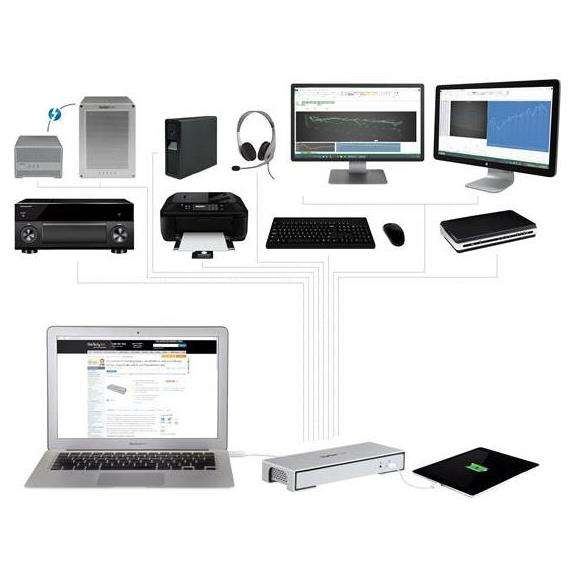 tb2dock4kdhc station d 39 accueil pc portable. Black Bedroom Furniture Sets. Home Design Ideas