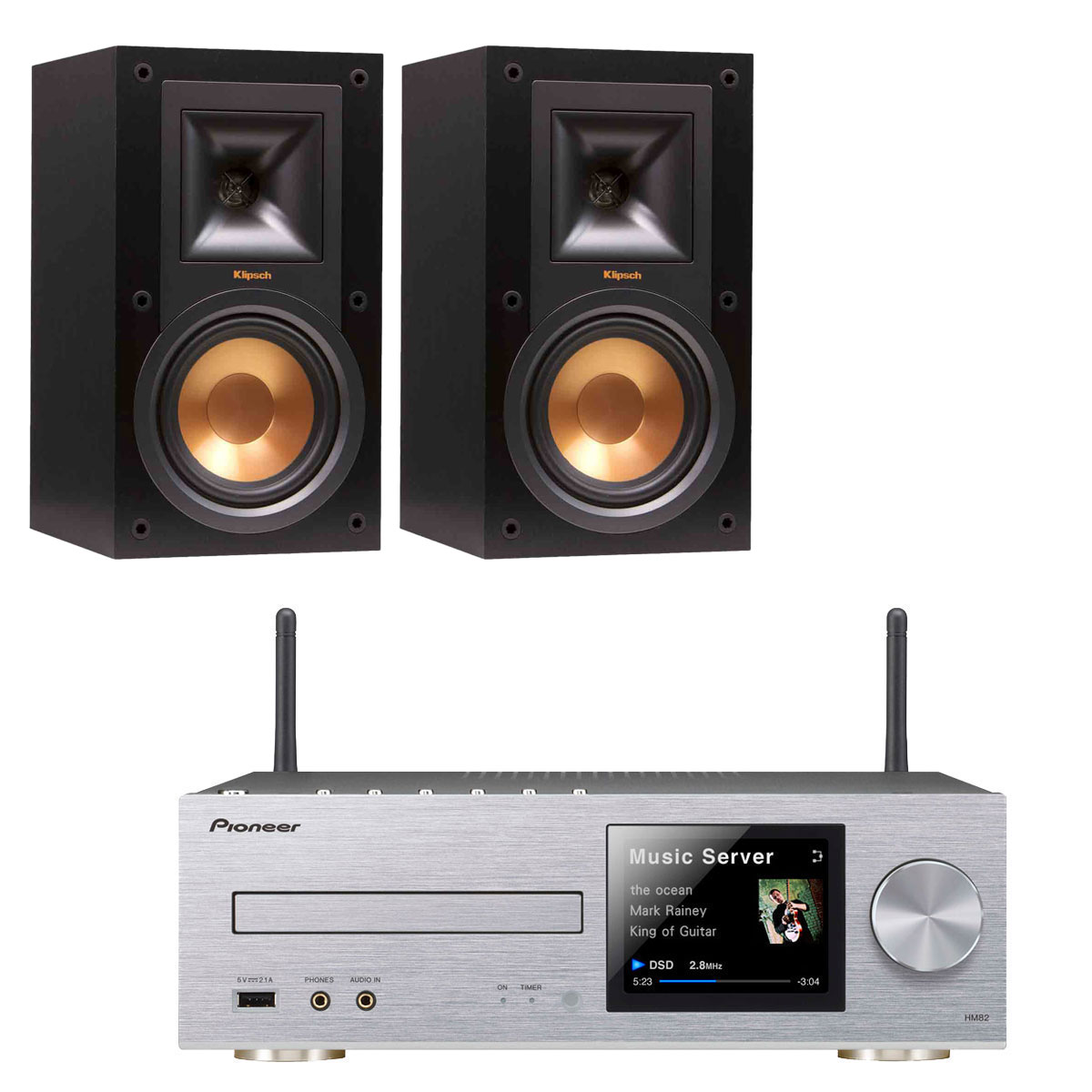 pioneer xc hm82 klipsch r 15m cha ne hifi pioneer sur. Black Bedroom Furniture Sets. Home Design Ideas