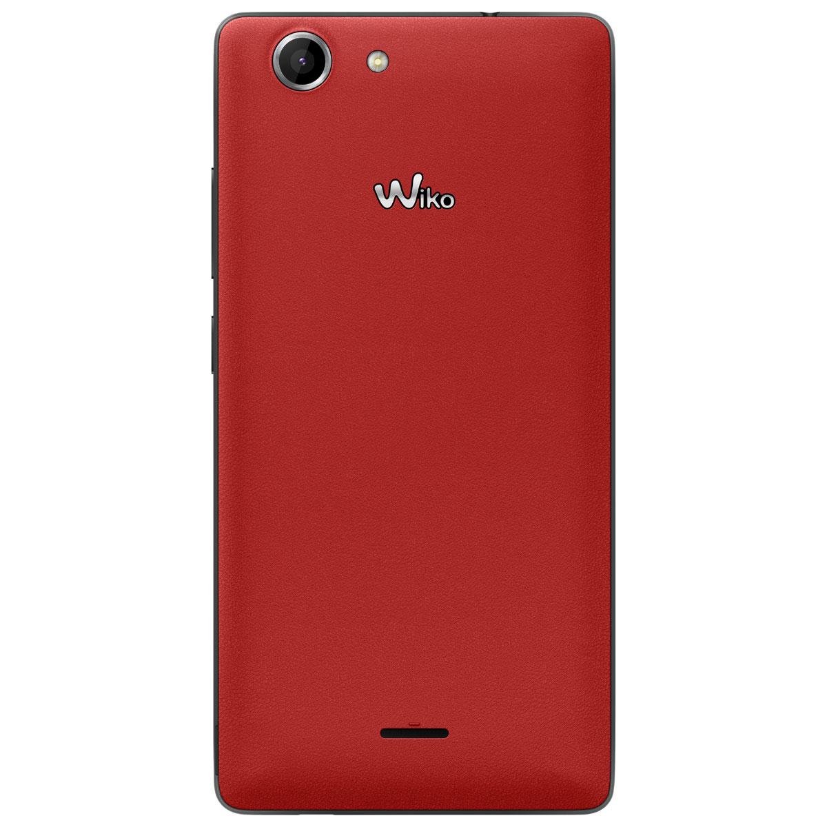 Wiko pulp 4g rouge mobile smartphone wiko sur for Photo ecran wiko
