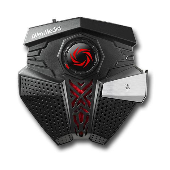 Microphone AVerMedia Aegis Micro unidirectionnel DSP pour Gamer
