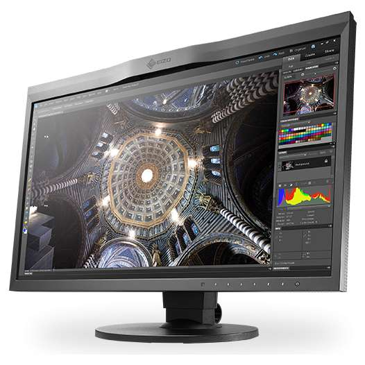 Eizo 24 led coloredge cg248 4k bk ecran pc eizo sur for Moniteur pc dalle ips