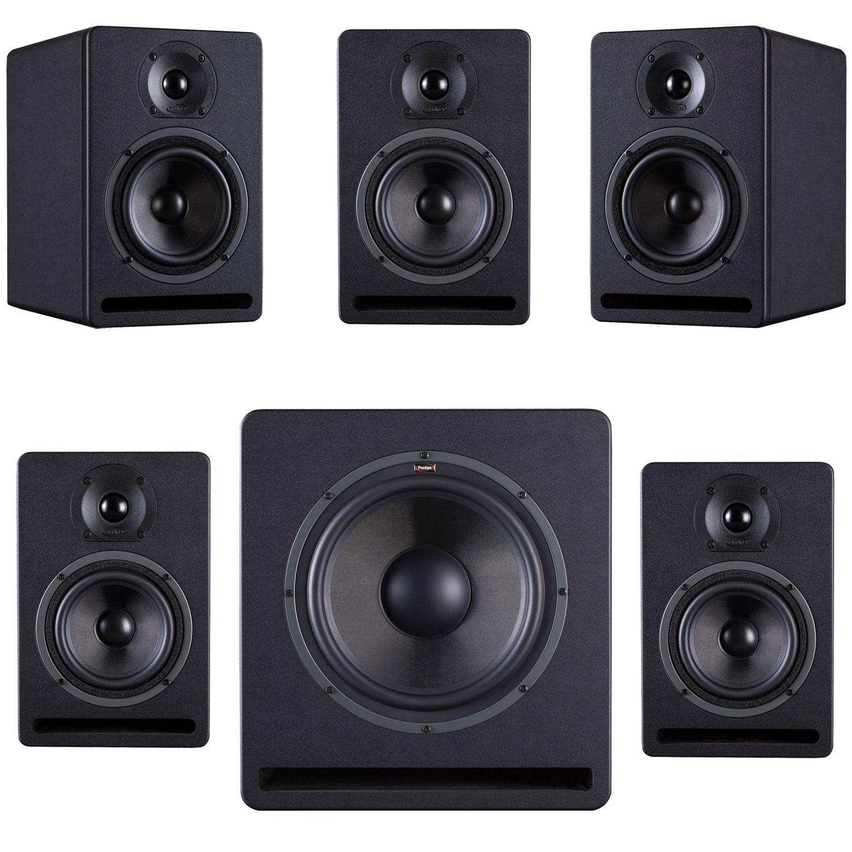 prodipe kit de monitoring 5 1 enceintes monitoring prodipe sur. Black Bedroom Furniture Sets. Home Design Ideas